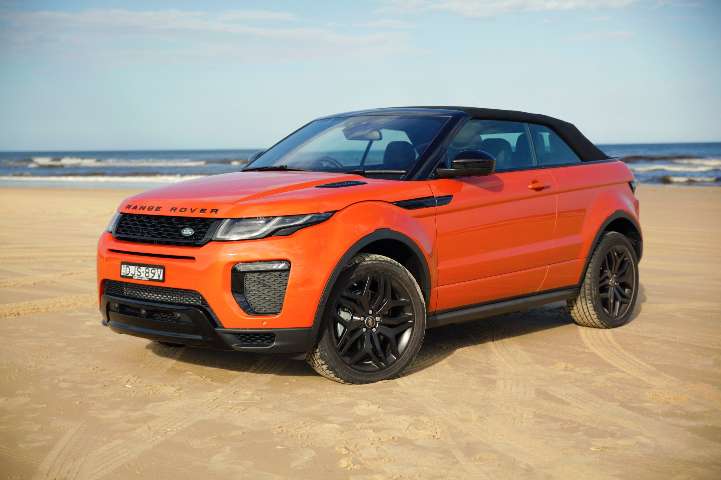 2017 range rover evoque convertible review caradvice. Black Bedroom Furniture Sets. Home Design Ideas