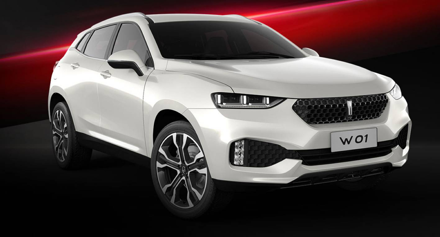 Great Wall Reveals WEY Luxury SUV Brand:: Not On The Cards