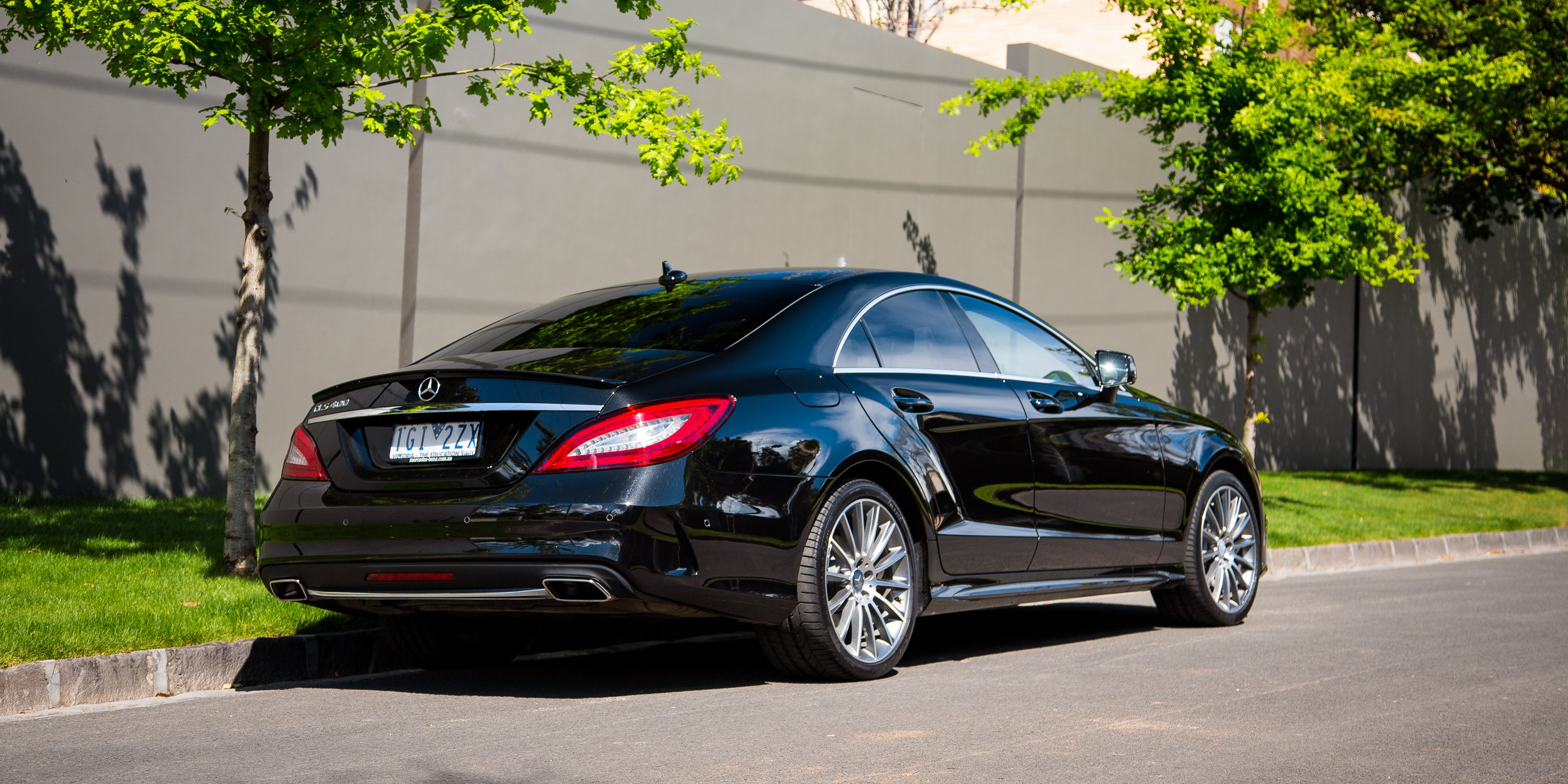 2016 mercedes benz cls400 review caradvice. Black Bedroom Furniture Sets. Home Design Ideas