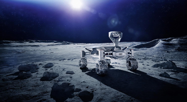 audi lunar quattro heading to the moon next year photos. Black Bedroom Furniture Sets. Home Design Ideas