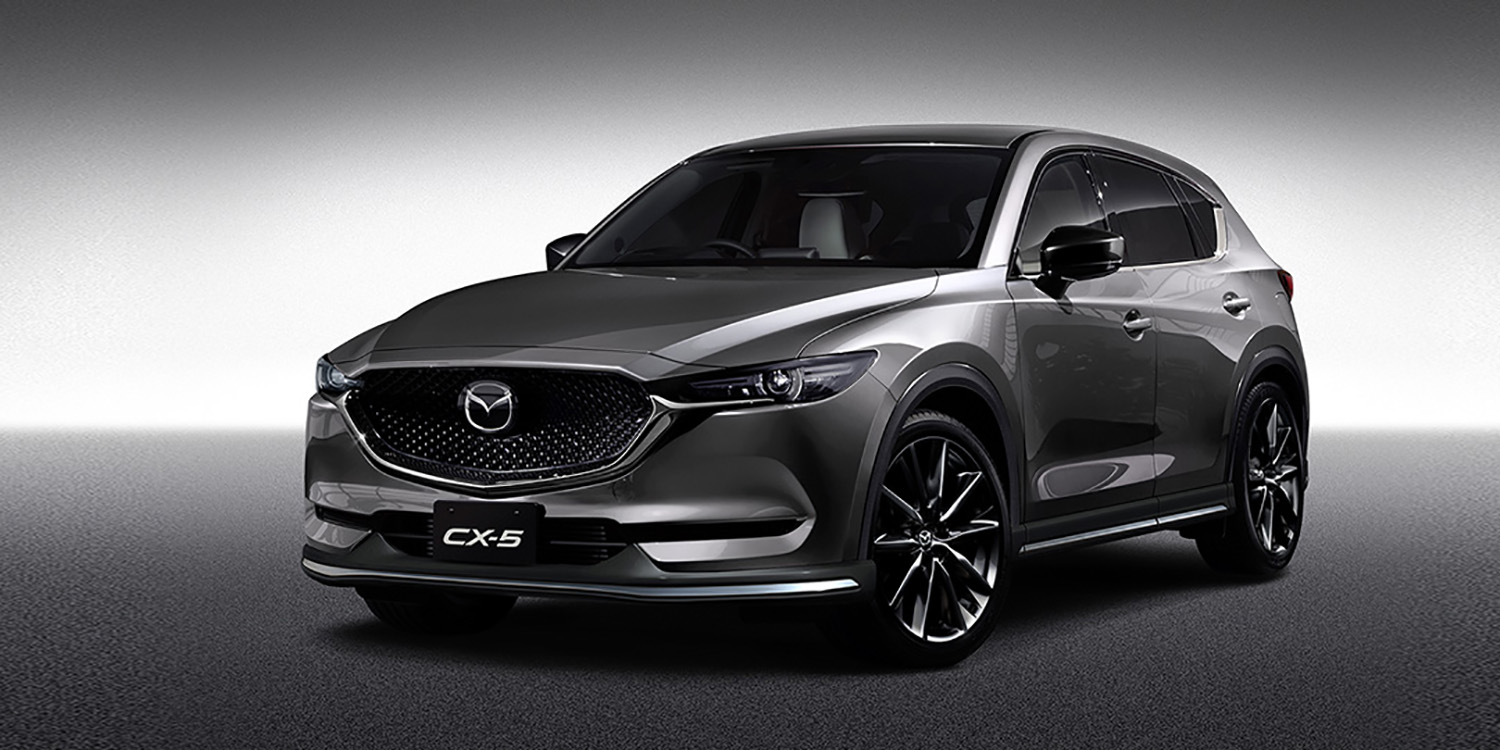2017 mazda cx 5 and cx 3 sport their custom style in tokyo. Black Bedroom Furniture Sets. Home Design Ideas
