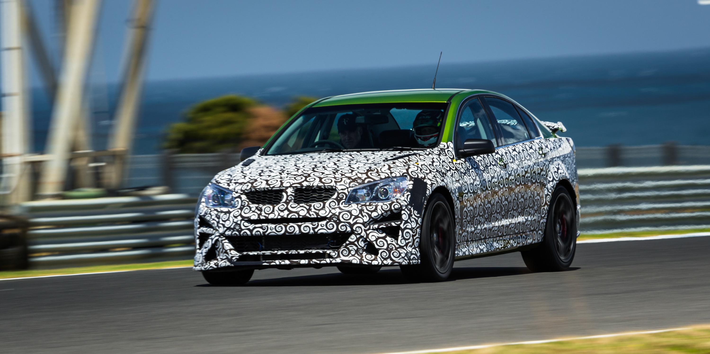 Luxury 2017 HSV GTSR W1 Review Phillip Island Preproduction Mule Quick