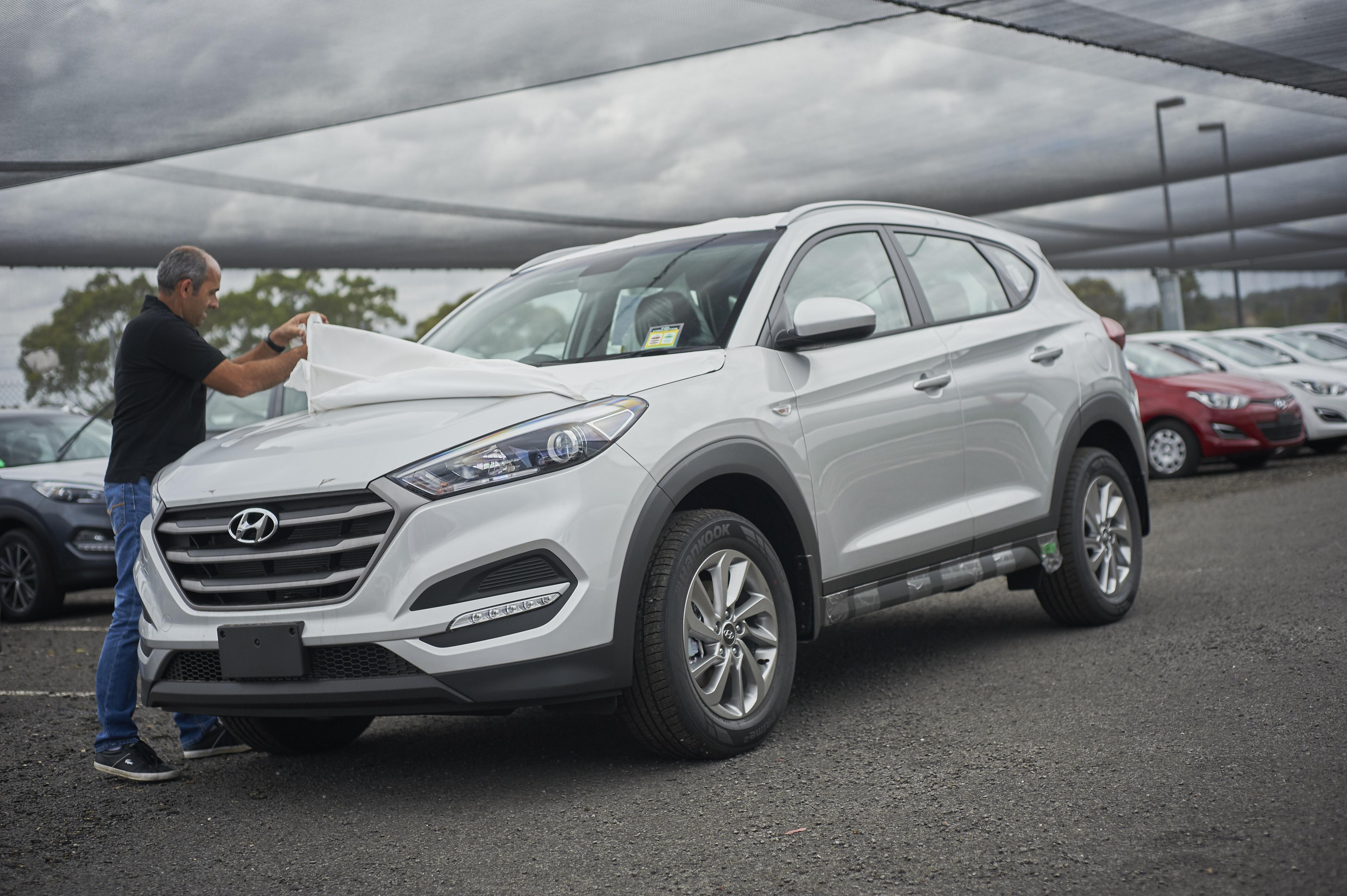 Elegant We Built A Hyundai Tucson From Scratch In The Czech