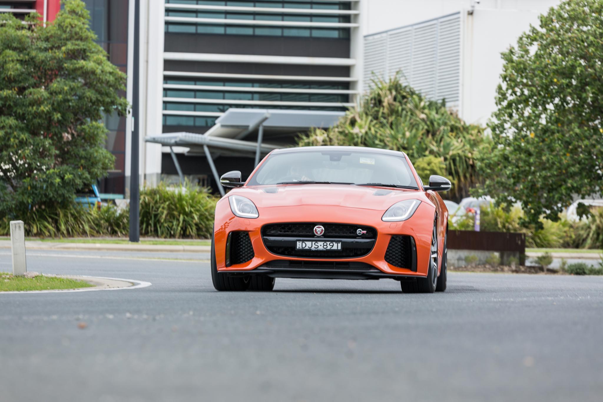 Brilliant 2017 Jaguar FType SVR Review  CarAdvice