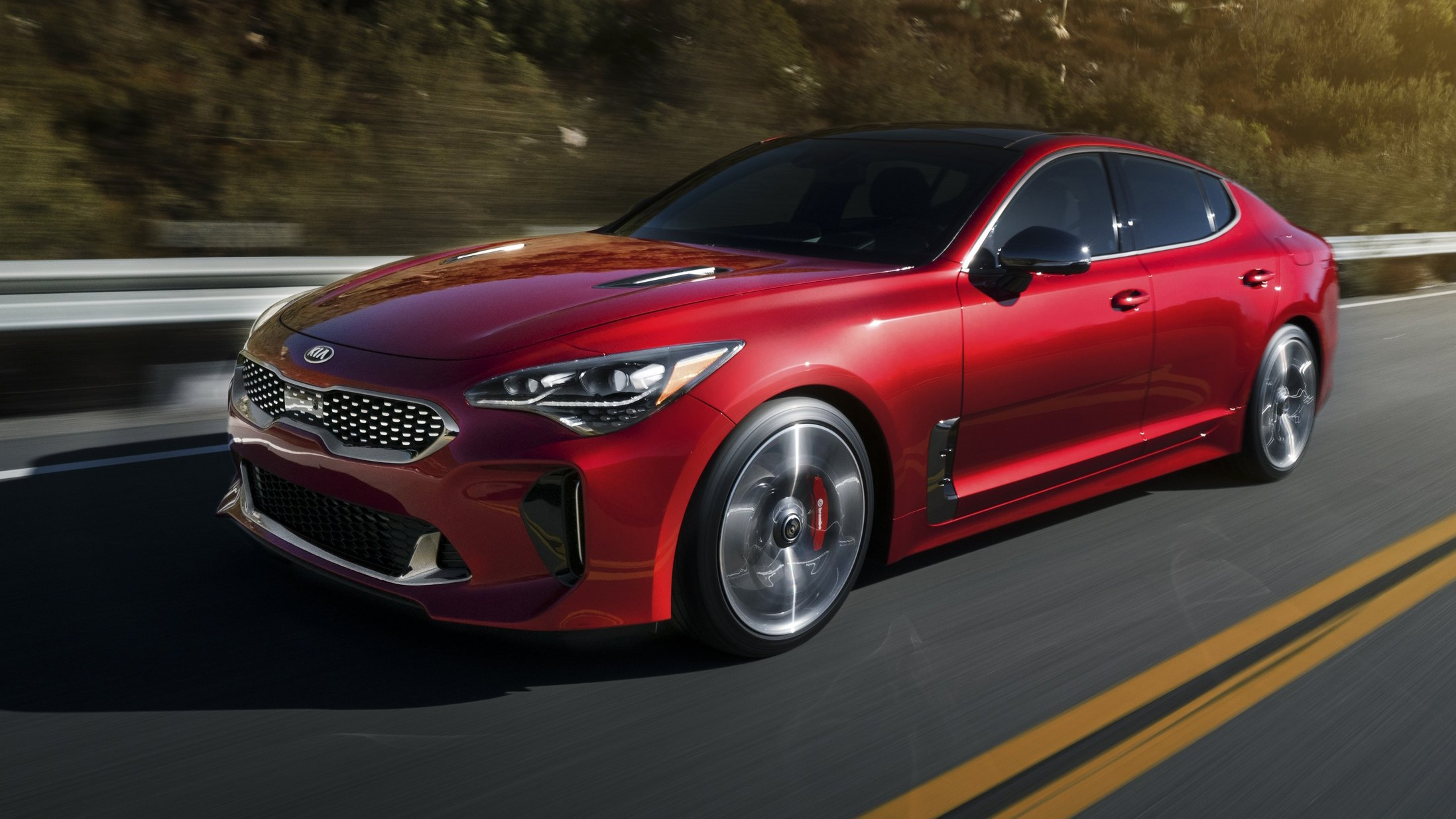 2018 kia stinger revealed detroit debut for 272kw rear. Black Bedroom Furniture Sets. Home Design Ideas