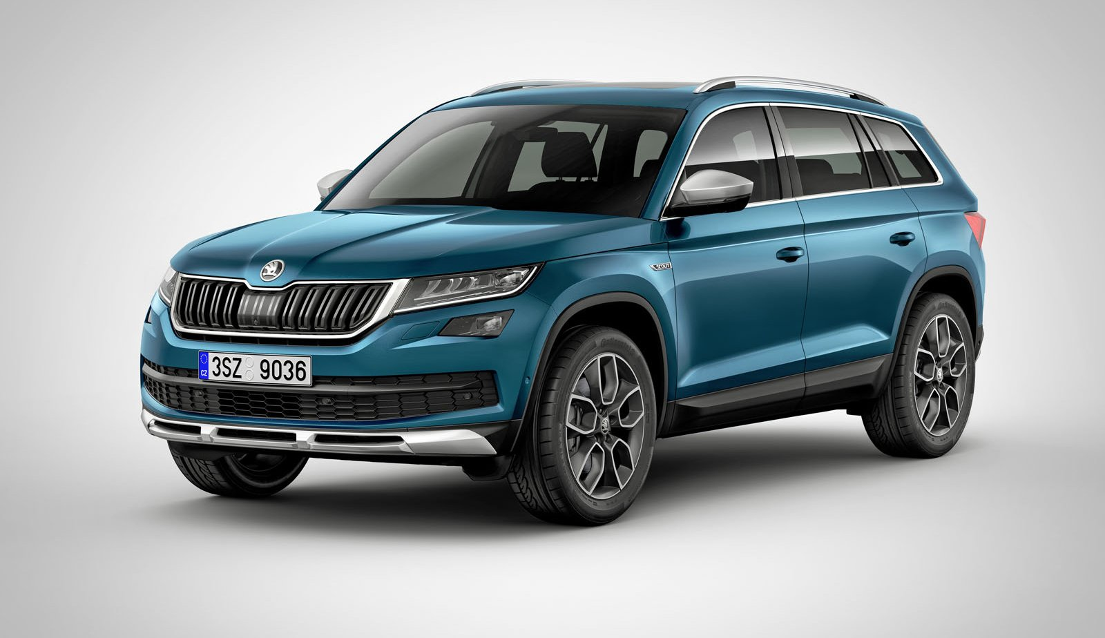 skoda kodiaq scout revealed australian launch under consideration photos 1 of 4. Black Bedroom Furniture Sets. Home Design Ideas