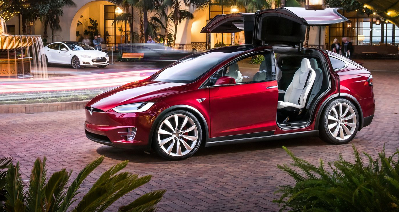 2017 tesla model x review first drive caradvice. Black Bedroom Furniture Sets. Home Design Ideas