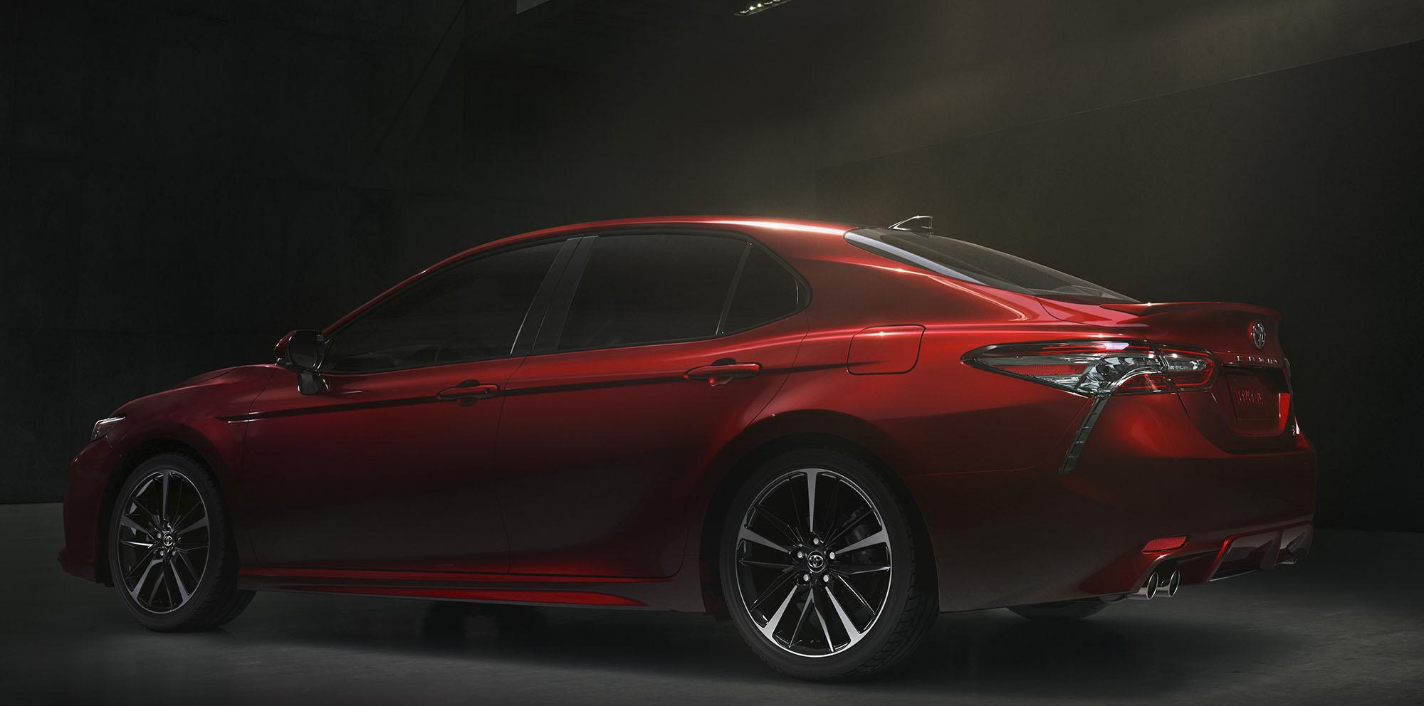 toyota camry revealed japan built sedan in australia from late 2017