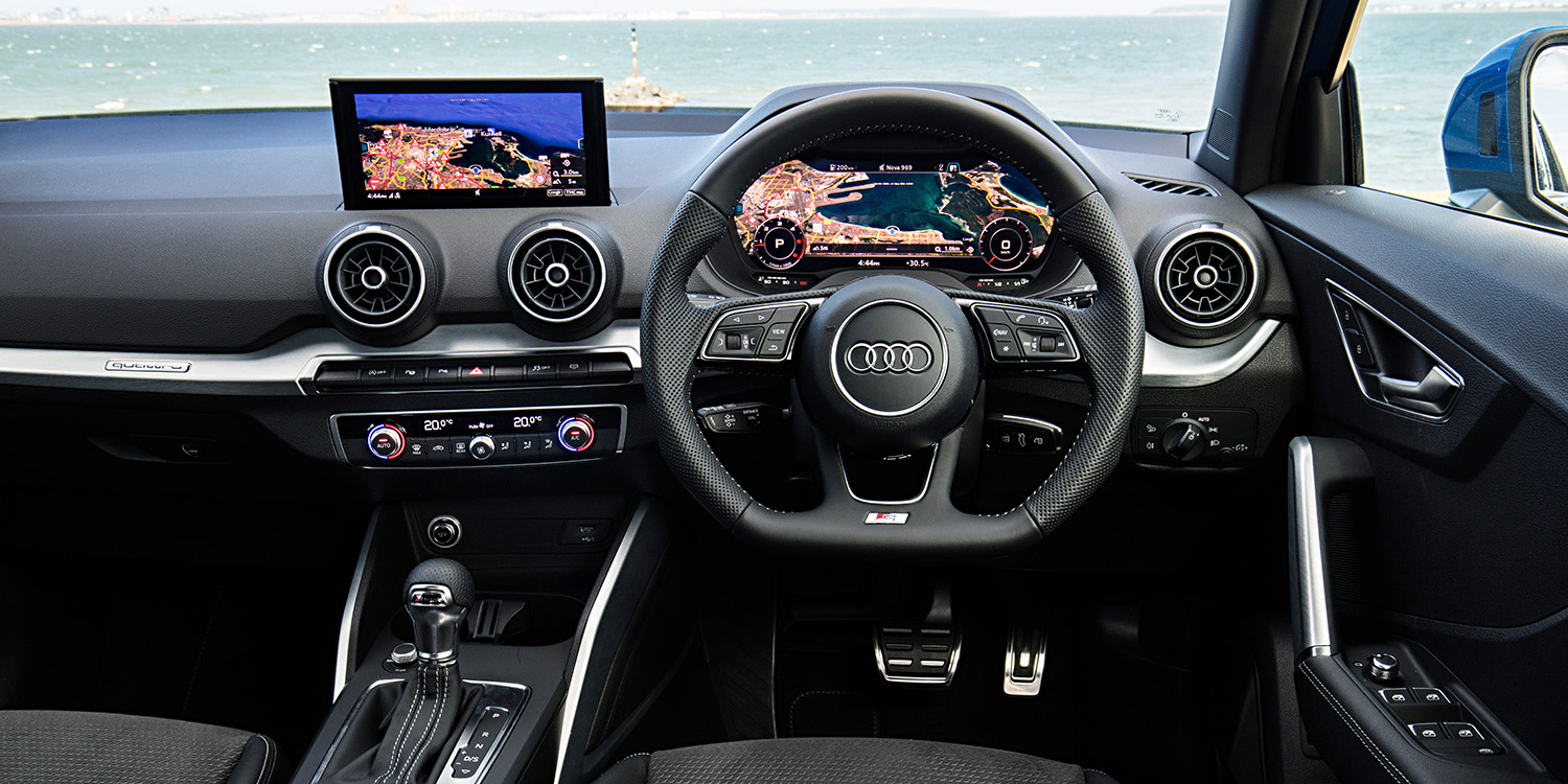 2017 audi q2 2 0 tdi sport quattro review caradvice. Black Bedroom Furniture Sets. Home Design Ideas