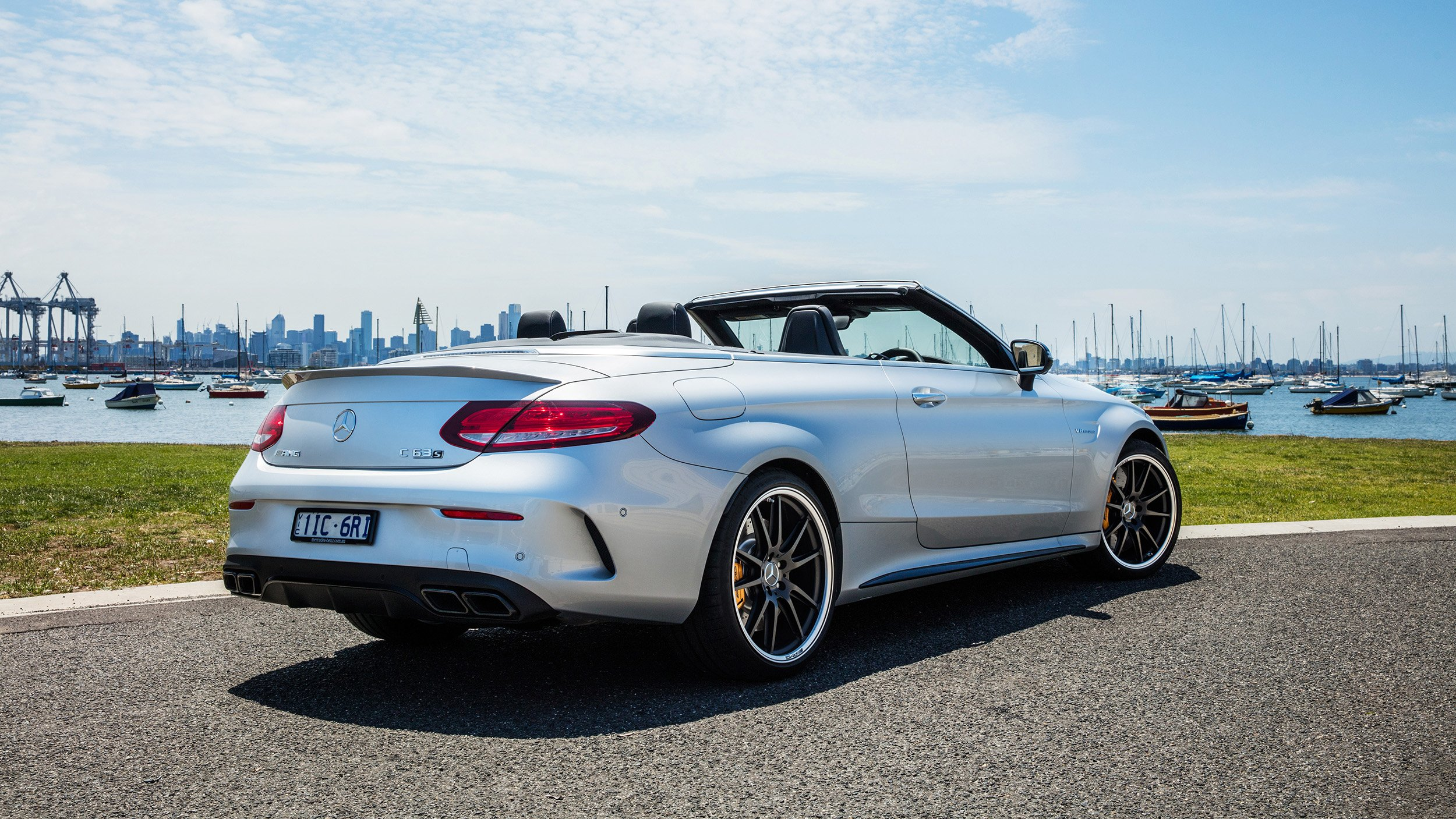 2017 mercedes amg c63 s cabriolet review caradvice for Mercedes benz c63 2017