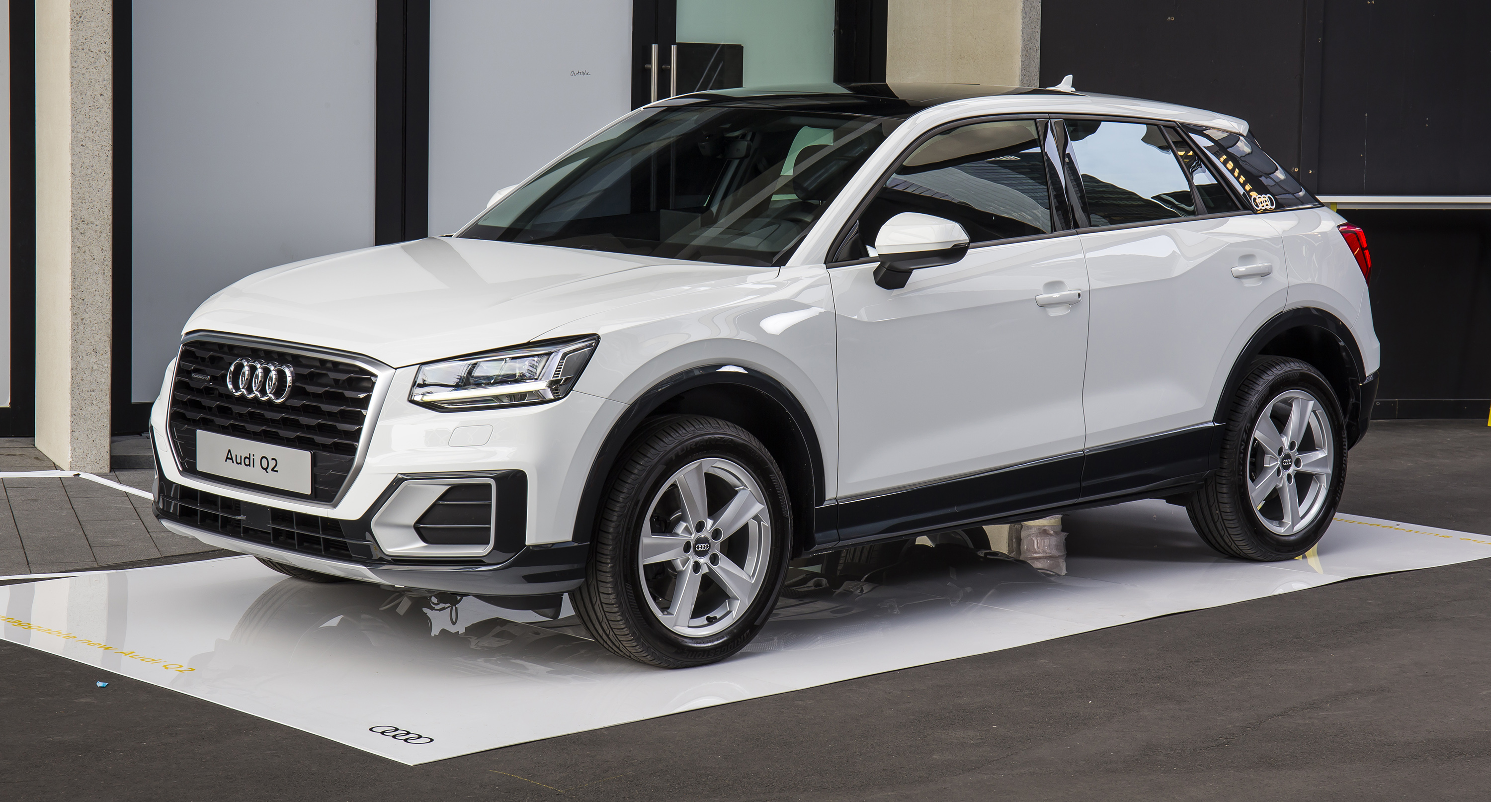 2017 audi q2 pricing and specs launch edition opens baby suv line up photos 1 of 19. Black Bedroom Furniture Sets. Home Design Ideas
