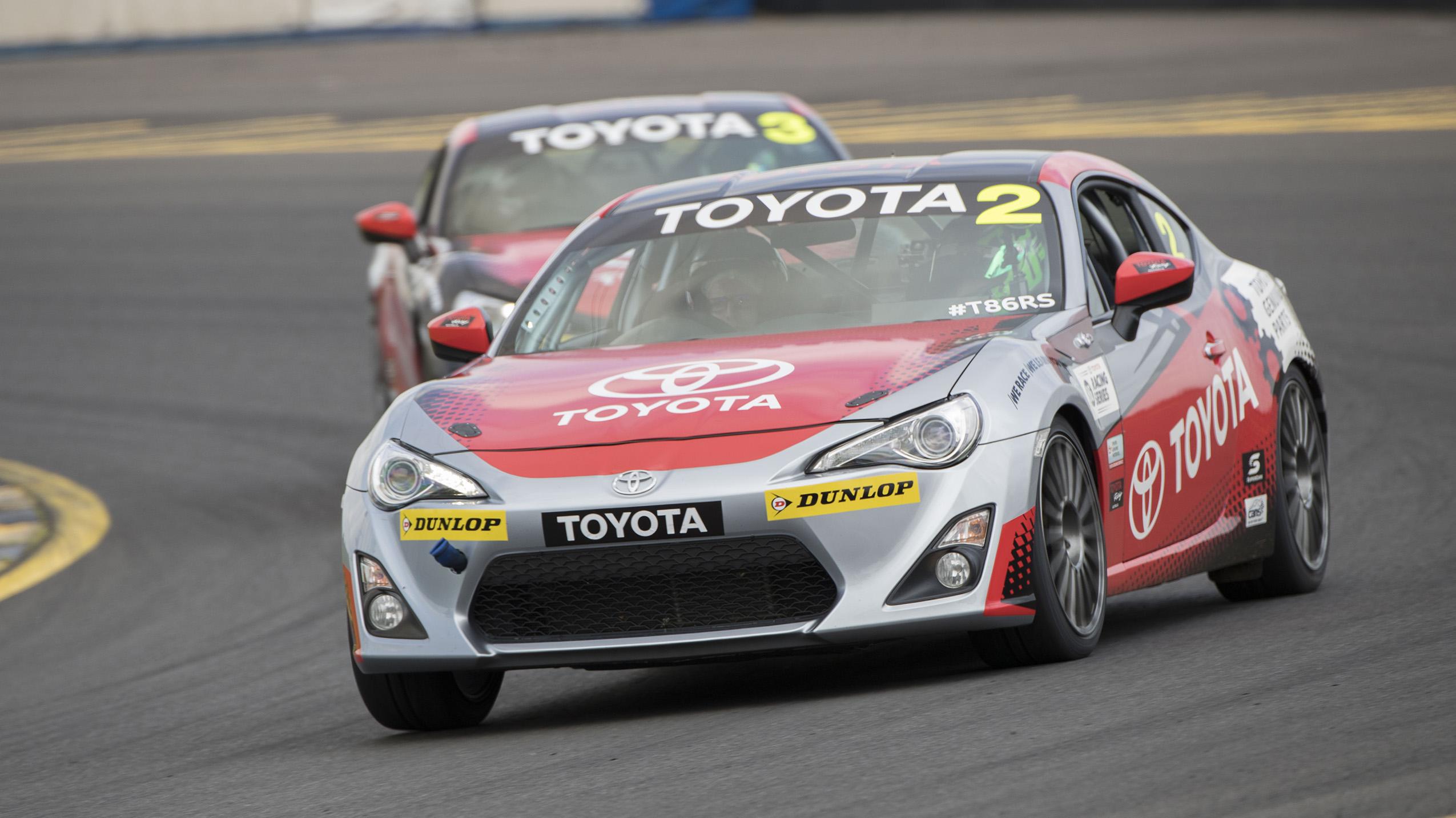 Toyota Racing Series Launch