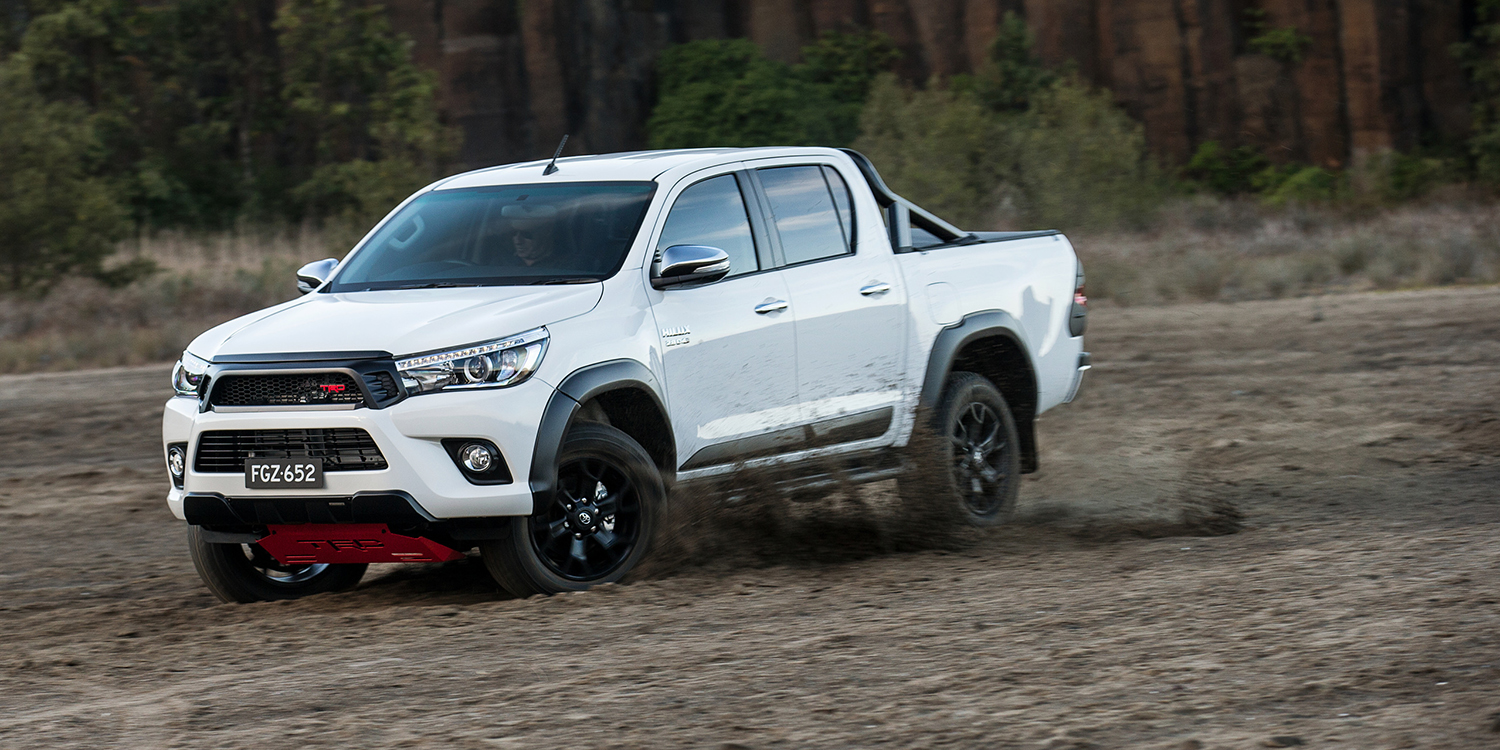 Toyota Camry Modified >> 2017 Toyota HiLux TRD arrives from $58,990 - Photos (1 of 9)