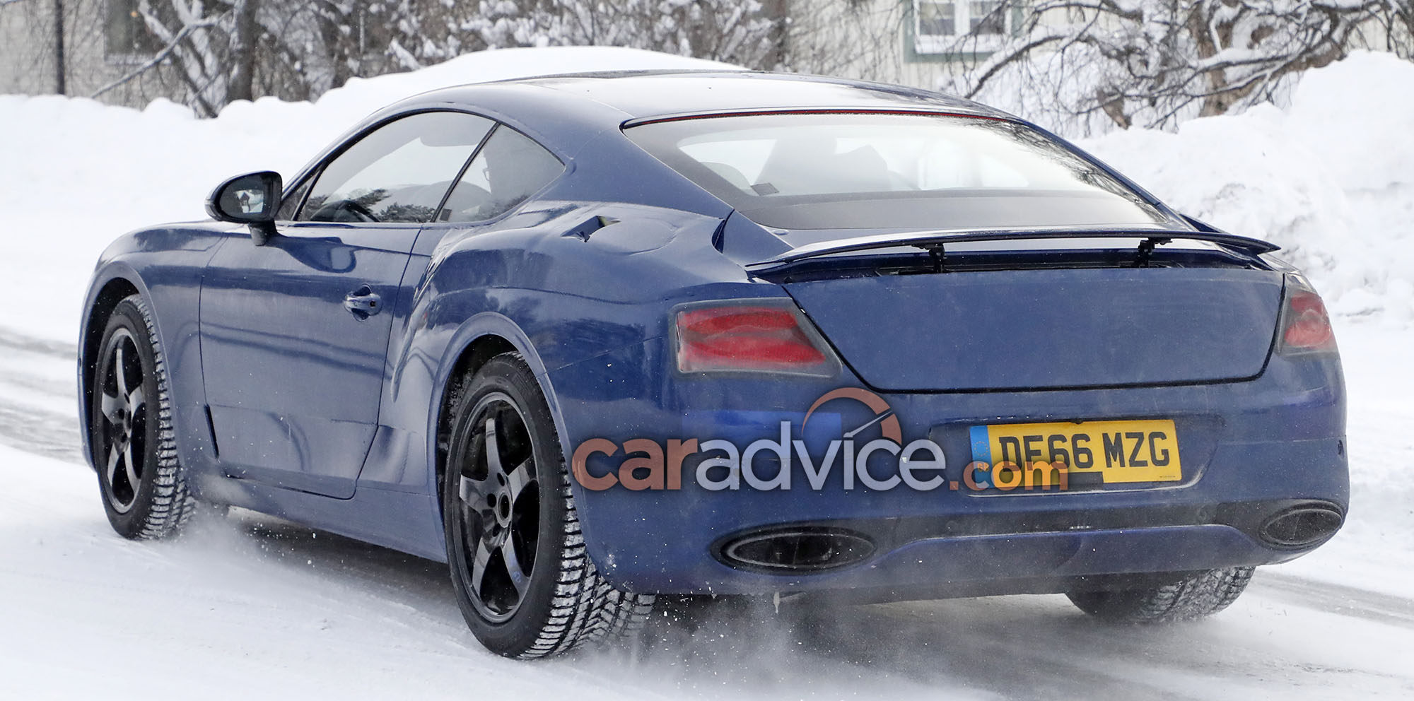 2018 bentley continental gt coupe spied with less camouflage photos 1 of 3. Black Bedroom Furniture Sets. Home Design Ideas