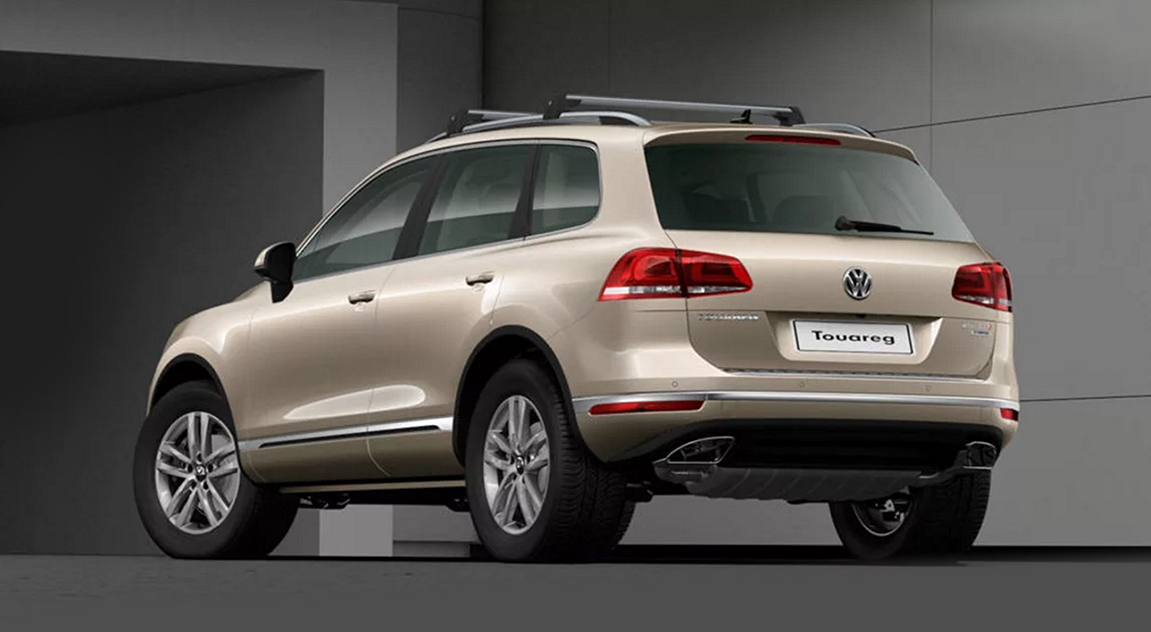 2017 volkswagen touareg adventure edition coming in april photos 1 of 3. Black Bedroom Furniture Sets. Home Design Ideas