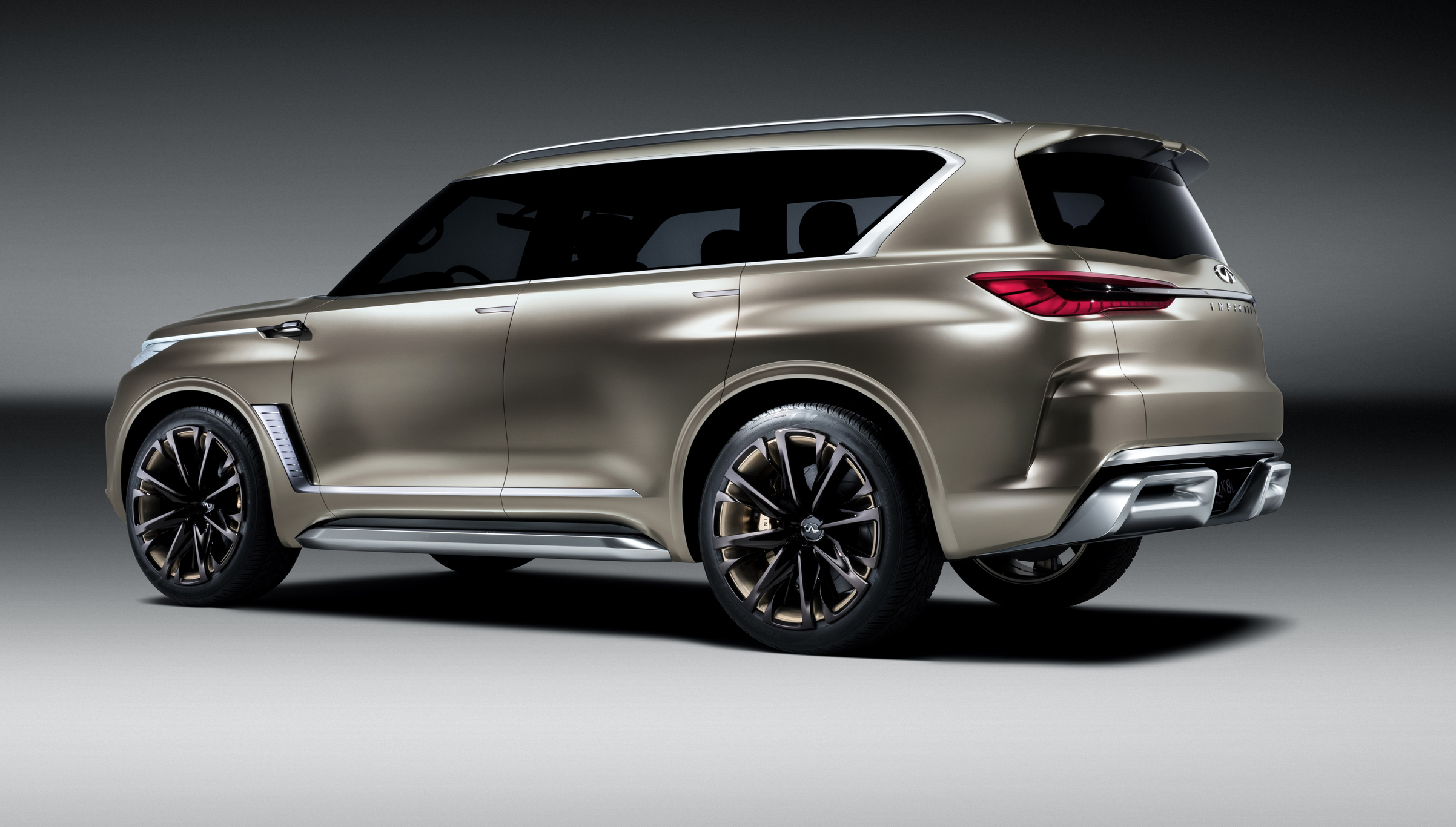 infiniti qx80 monograph concept revealed update photos 1 of 12. Black Bedroom Furniture Sets. Home Design Ideas