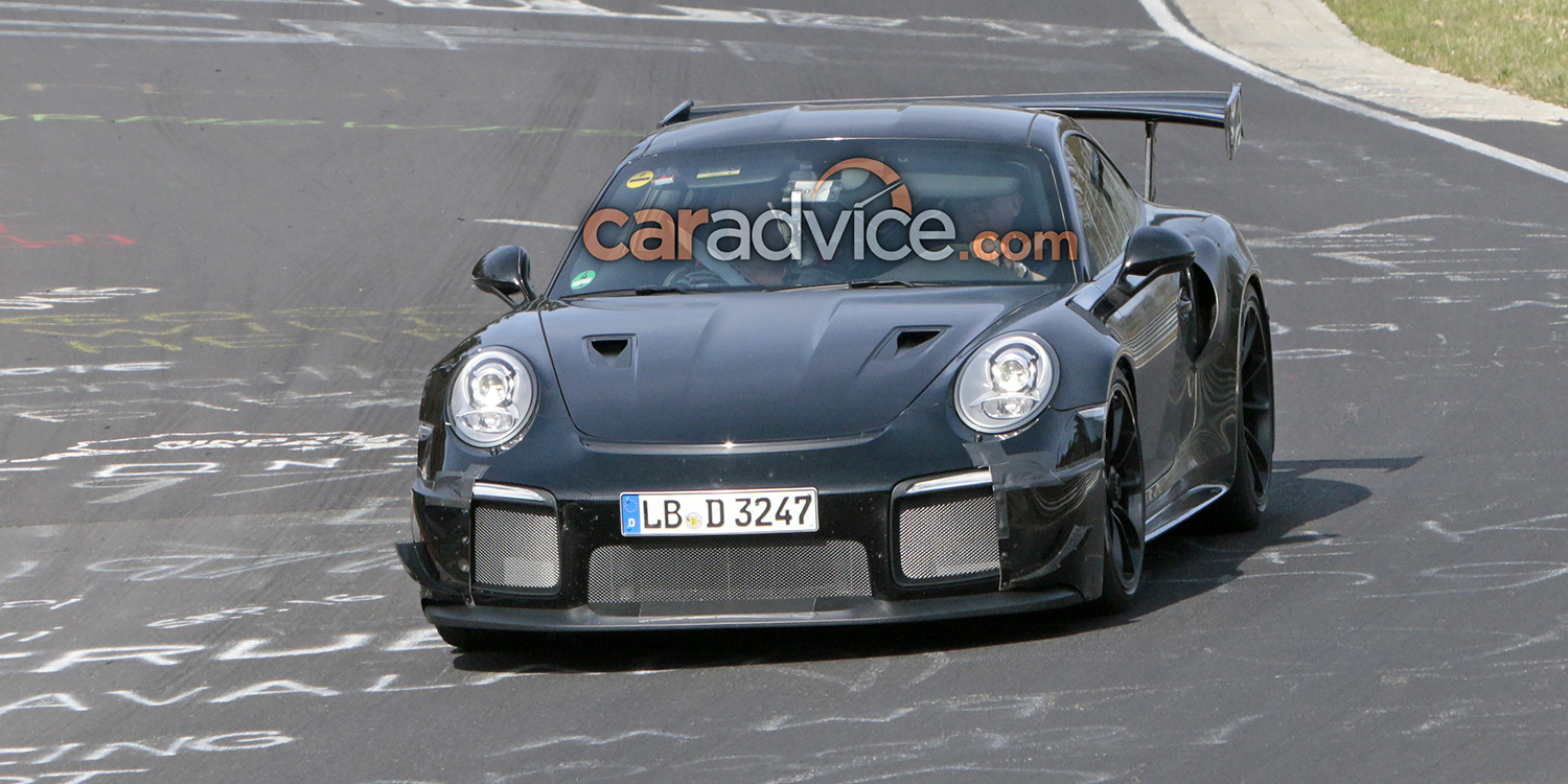 porsche 911 gt2 spied at the nurburgring photos 1 of 18. Black Bedroom Furniture Sets. Home Design Ideas