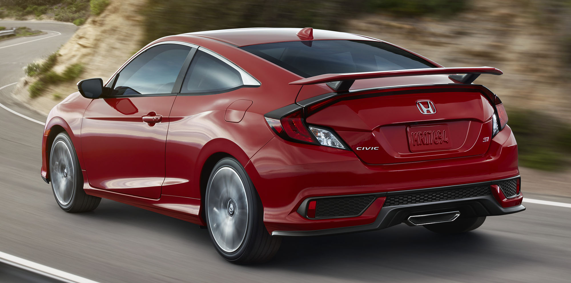 honda civic si unveiled in the usa bridges gap to type r photos 1 of 4. Black Bedroom Furniture Sets. Home Design Ideas