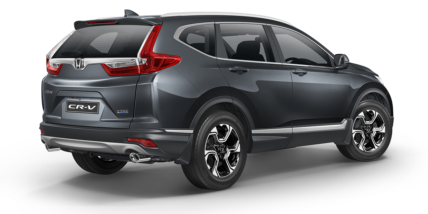 2018 honda cr v pricing and specs turbo five and seven for Honda 7 seater suv