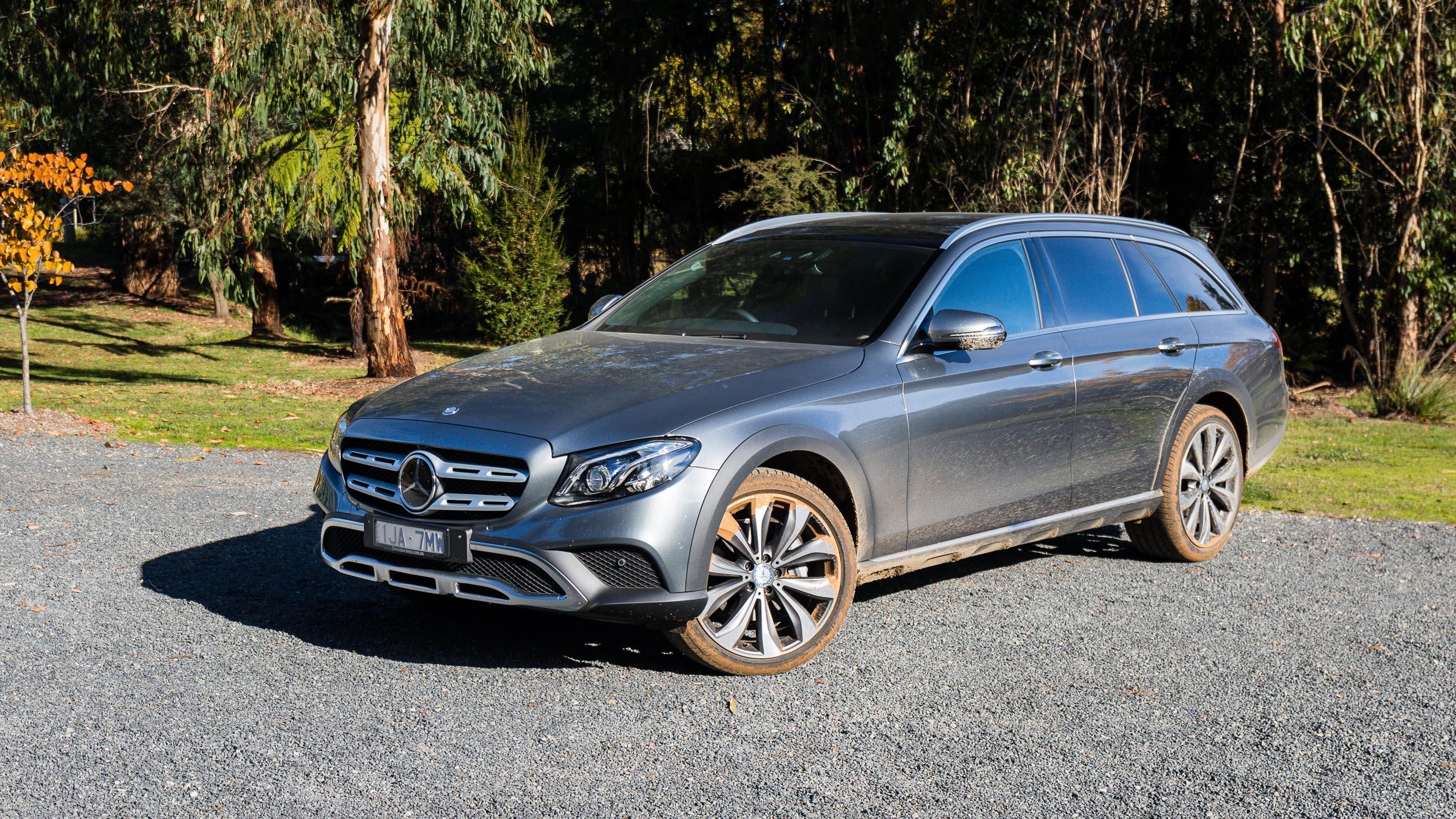 2017 mercedes benz e220d all terrain review caradvice for Mercedes benz all
