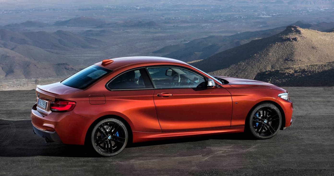2017 bmw 2 series revealed ahead of september launch photos 1 of 9. Black Bedroom Furniture Sets. Home Design Ideas