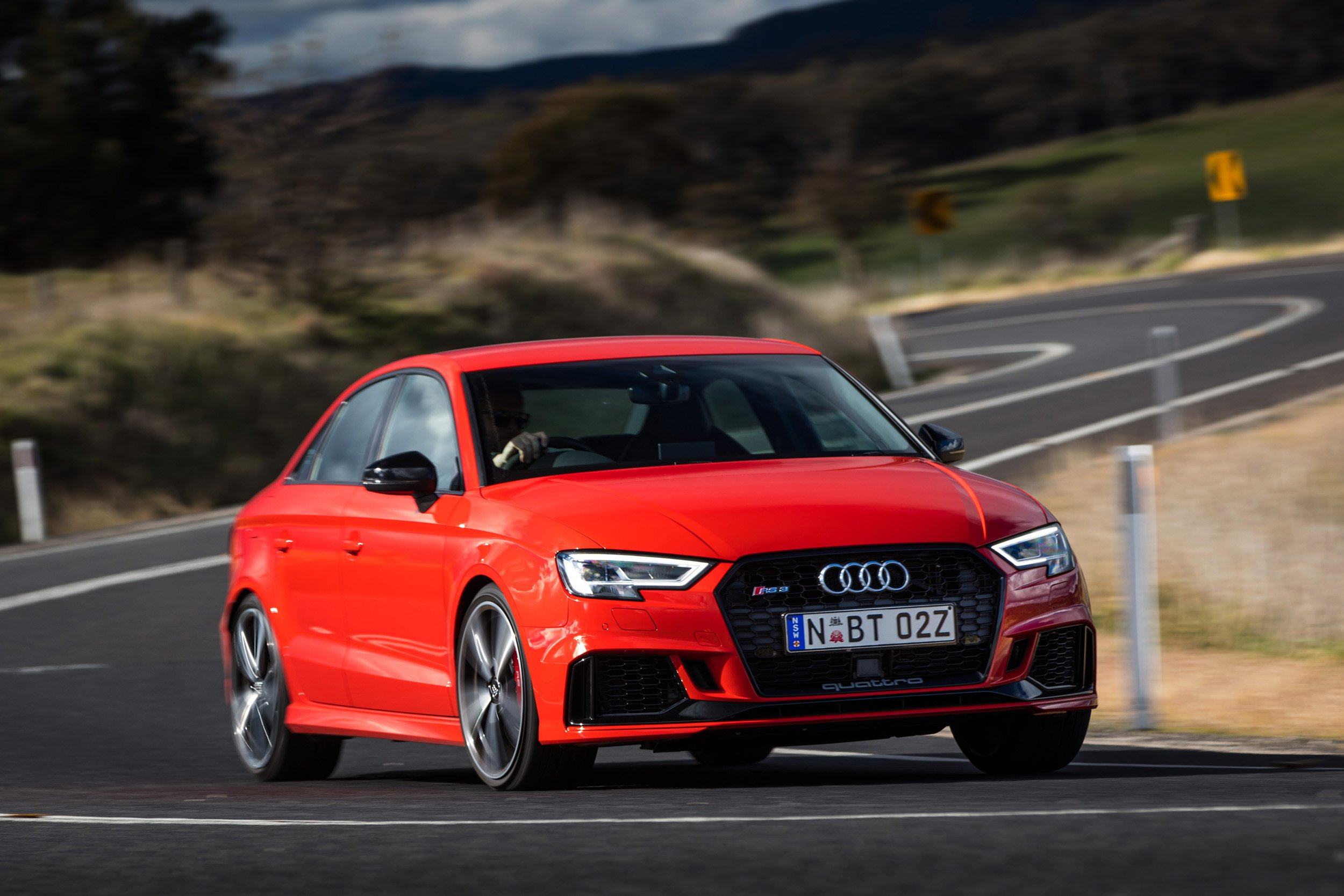 2017 audi rs3 sedan review caradvice. Black Bedroom Furniture Sets. Home Design Ideas