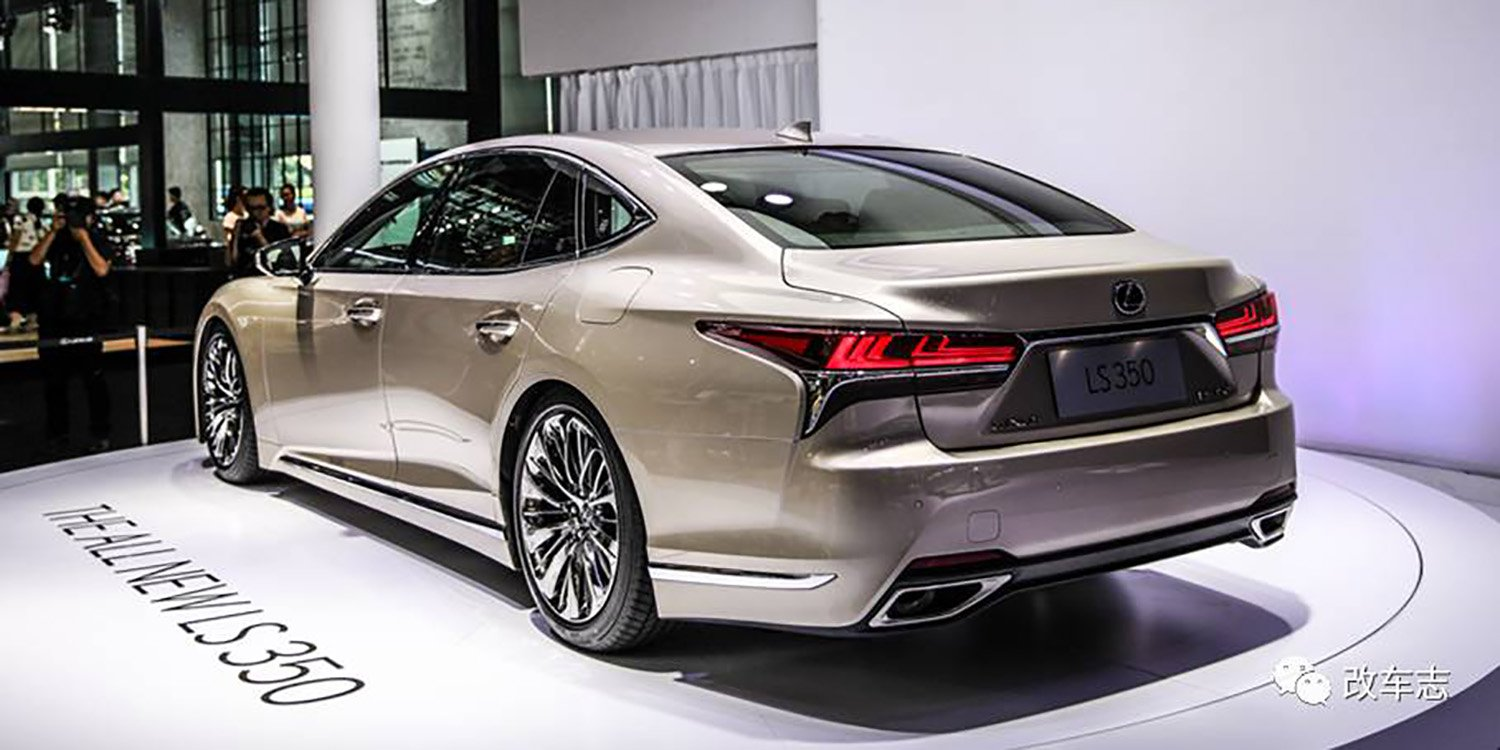 2018 lexus ls350 debuts in china not for australia update photos 1 of 4. Black Bedroom Furniture Sets. Home Design Ideas