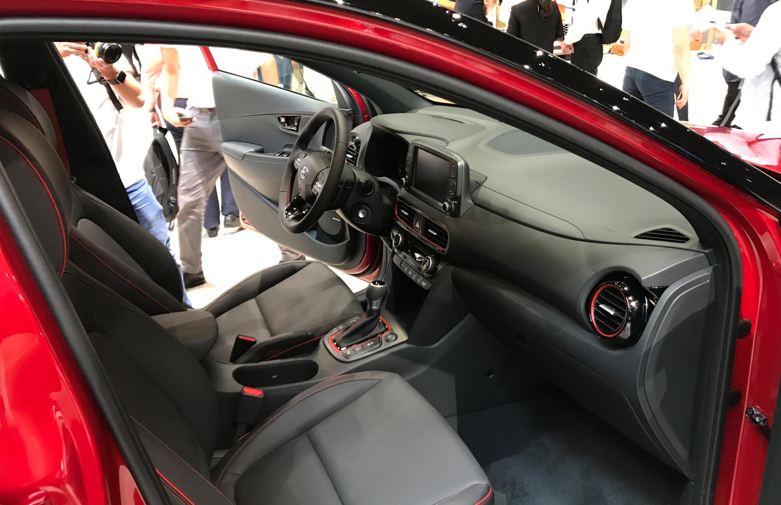 Toyota Camry 2018 Interior >> 2018 Hyundai Kona review: Quick drive | CarAdvice