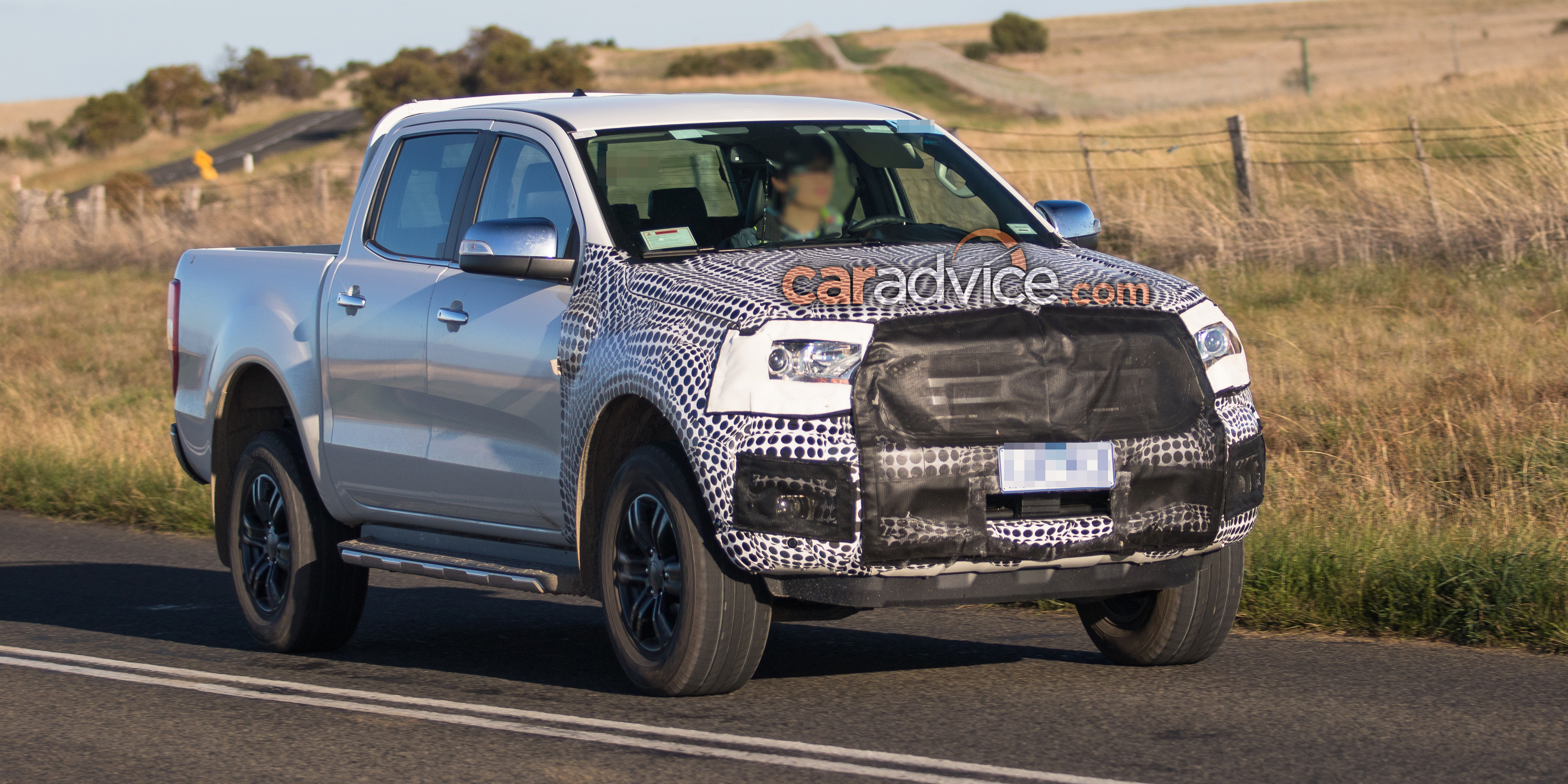 2018 Ford Ranger And Everest Spied Testing Aeb And New