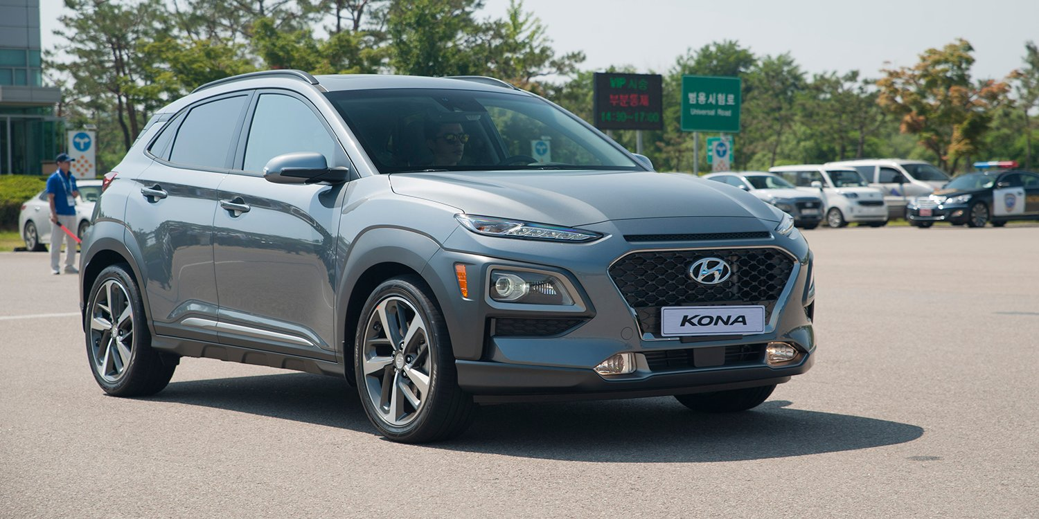 2018 hyundai kona review quick drive caradvice. Black Bedroom Furniture Sets. Home Design Ideas