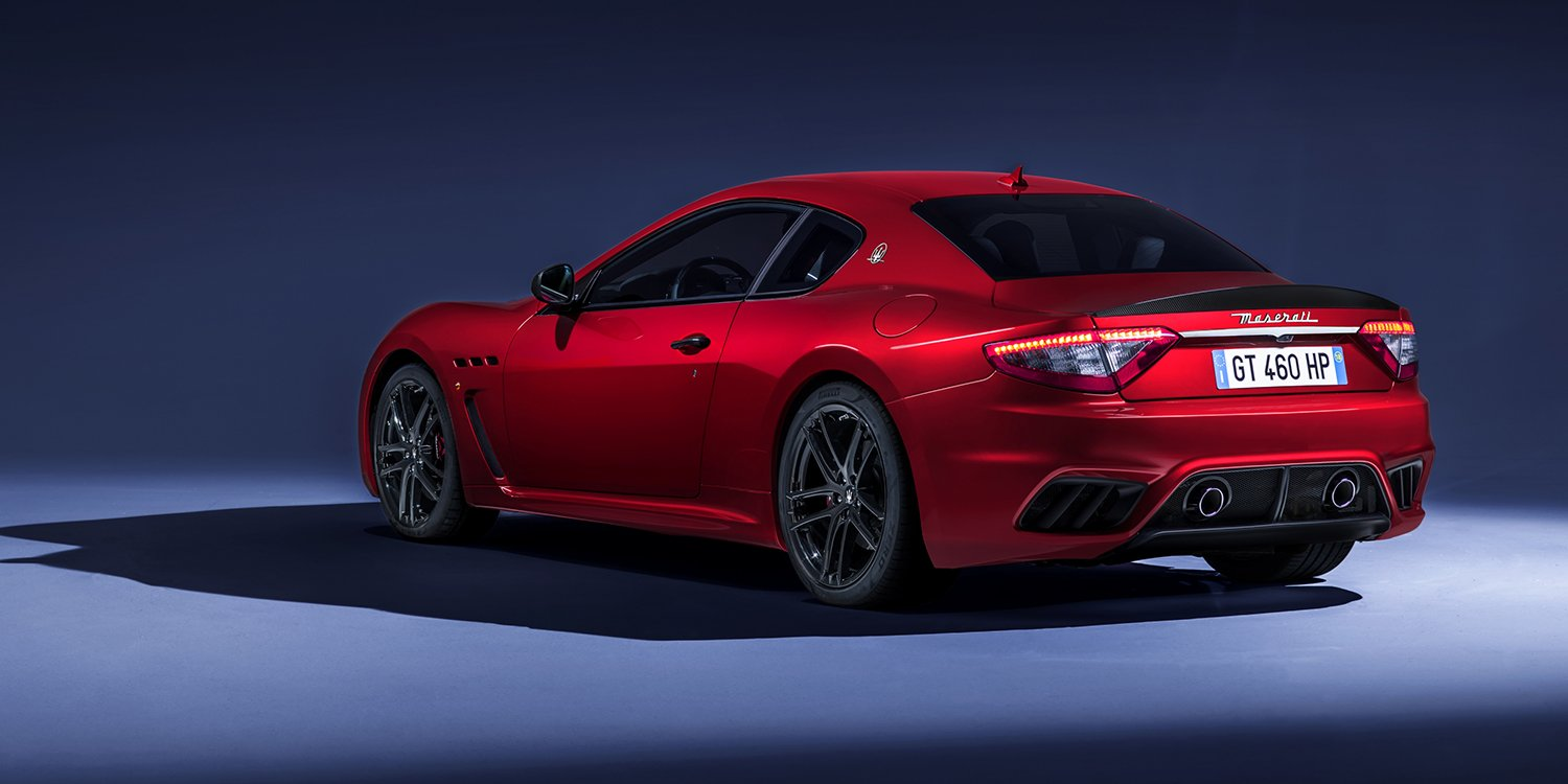 2018 maserati grancabrio granturismo fully revealed for goodwood photos 1 of 45. Black Bedroom Furniture Sets. Home Design Ideas