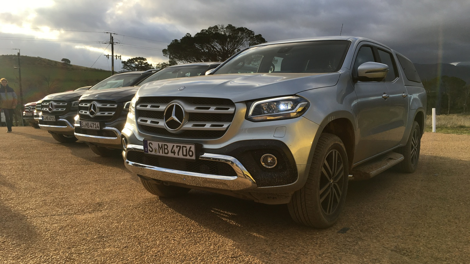 2018 mercedes benz x class ride along review caradvice for Mercedes benz car classes