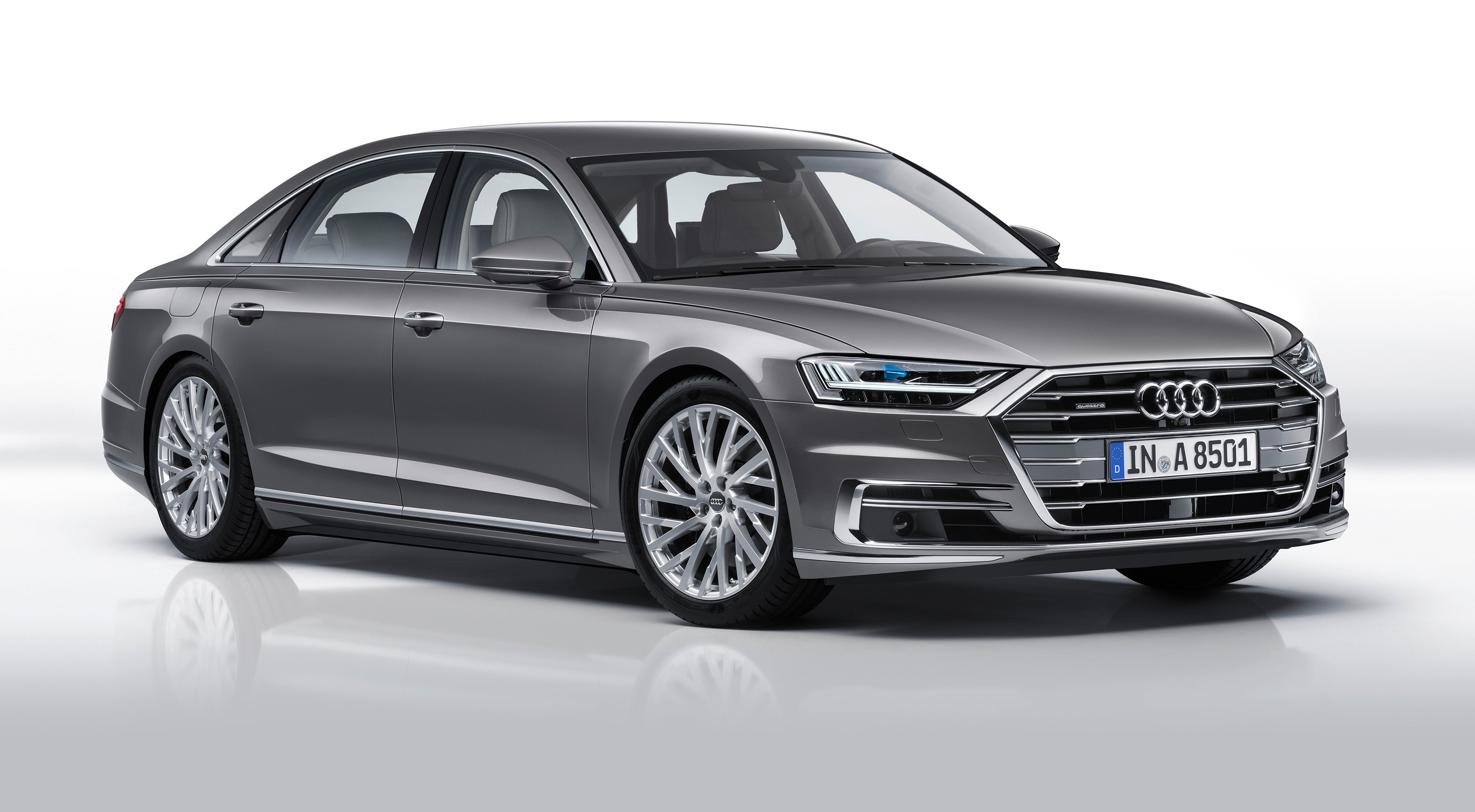 2018 Audi A8 revealed, in Australia from mid-year - Photos (1 of 46)