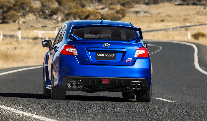 2018 subaru wrx wrx sti pricing and specs tweaked looks