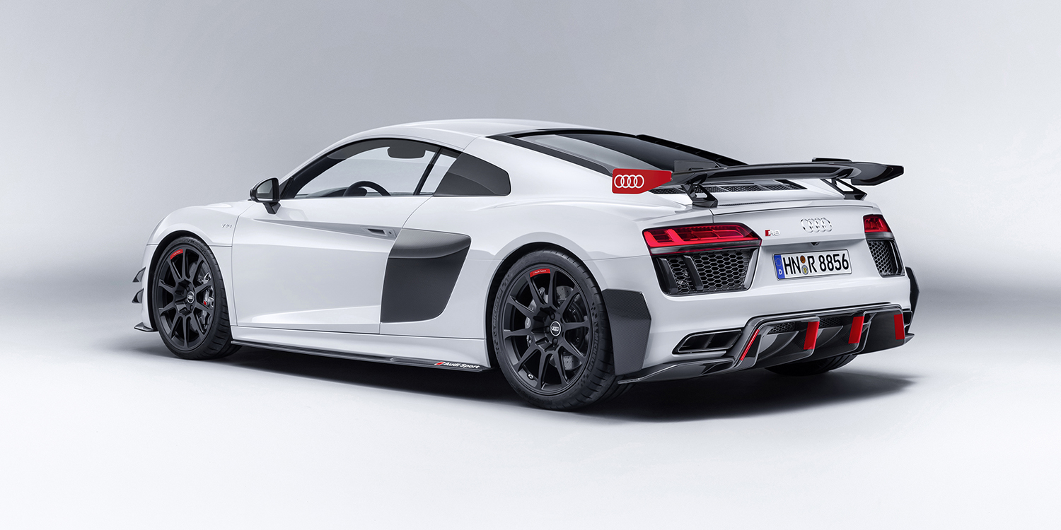 audi sport reveals r8 tt performance parts photos 1 of 28