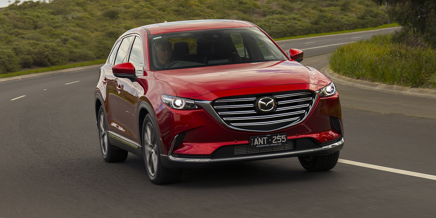 2018 mazda cx 9 pricing and specs photos 1 of 12. Black Bedroom Furniture Sets. Home Design Ideas