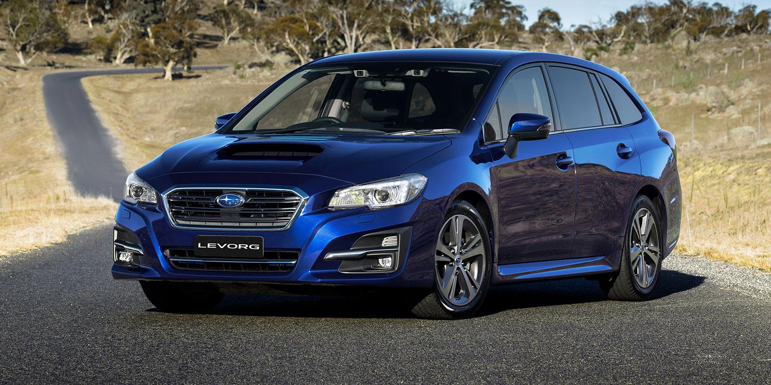 2018 subaru levorg pricing and specs 1 6 model cuts entry. Black Bedroom Furniture Sets. Home Design Ideas