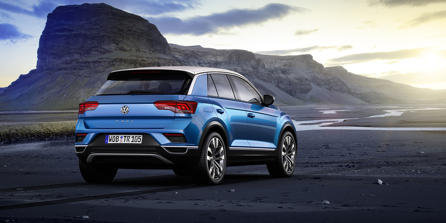 volkswagen t roc small suv forced off australian agenda for now photos 1 of 5. Black Bedroom Furniture Sets. Home Design Ideas