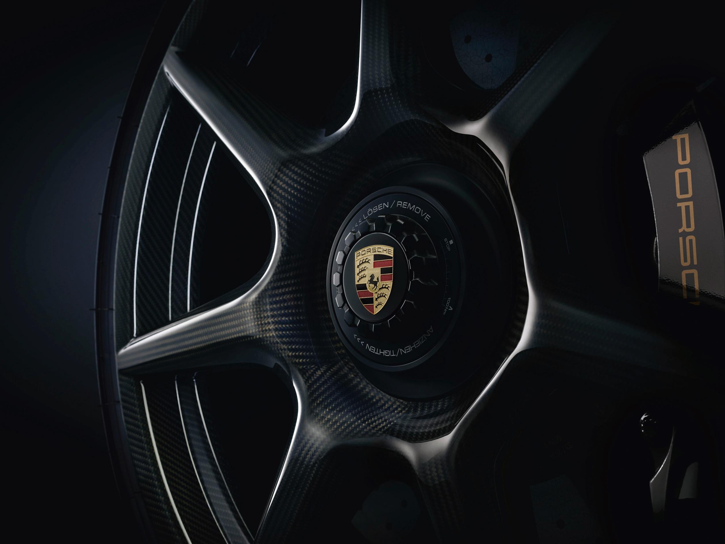 Porsche-carbon-fibre-wheels-1 Outstanding Porsche 911 Gt2 Wheel Au Cars Trend