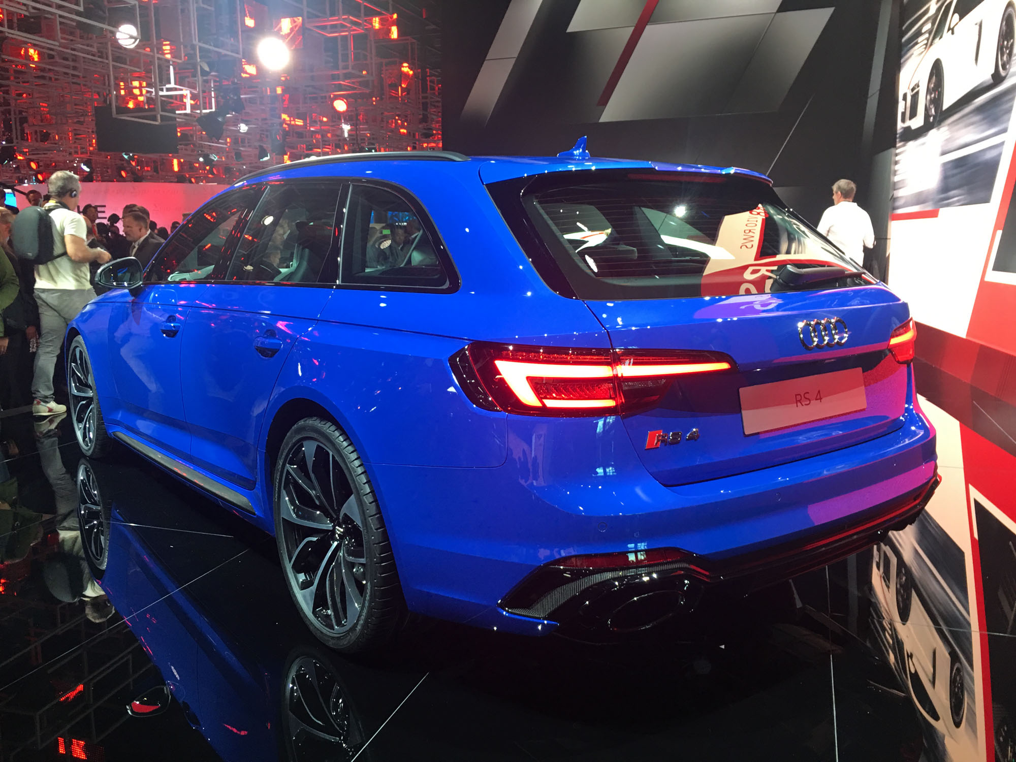 2018 Audi Rs4 Avant Revealed Here By April Photos 1 Of 54