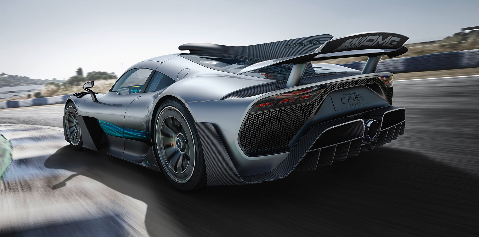 Amg project one and smart vision eq fortwo both show the for Mercedes benz project one