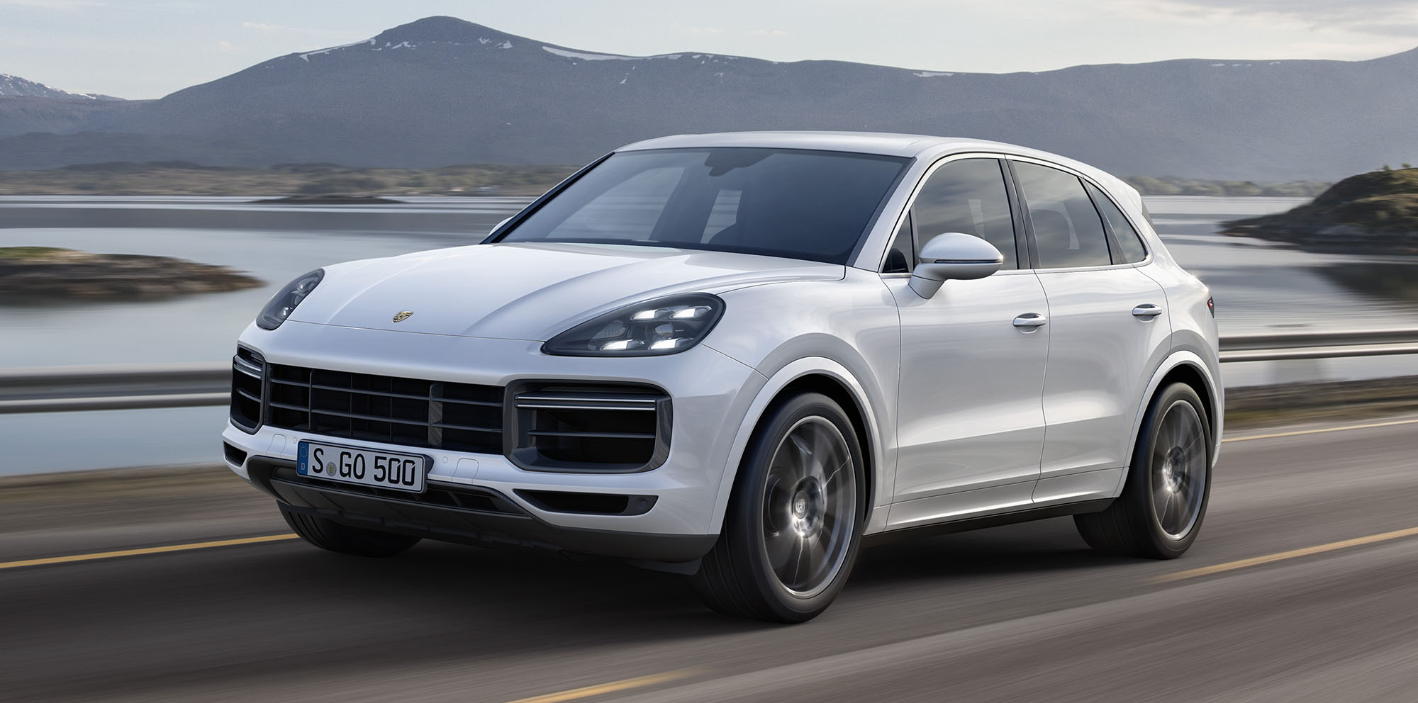 2018 porsche suv. simple suv 2018 porsche cayenne turbo revealed here from mid2018 for porsche suv