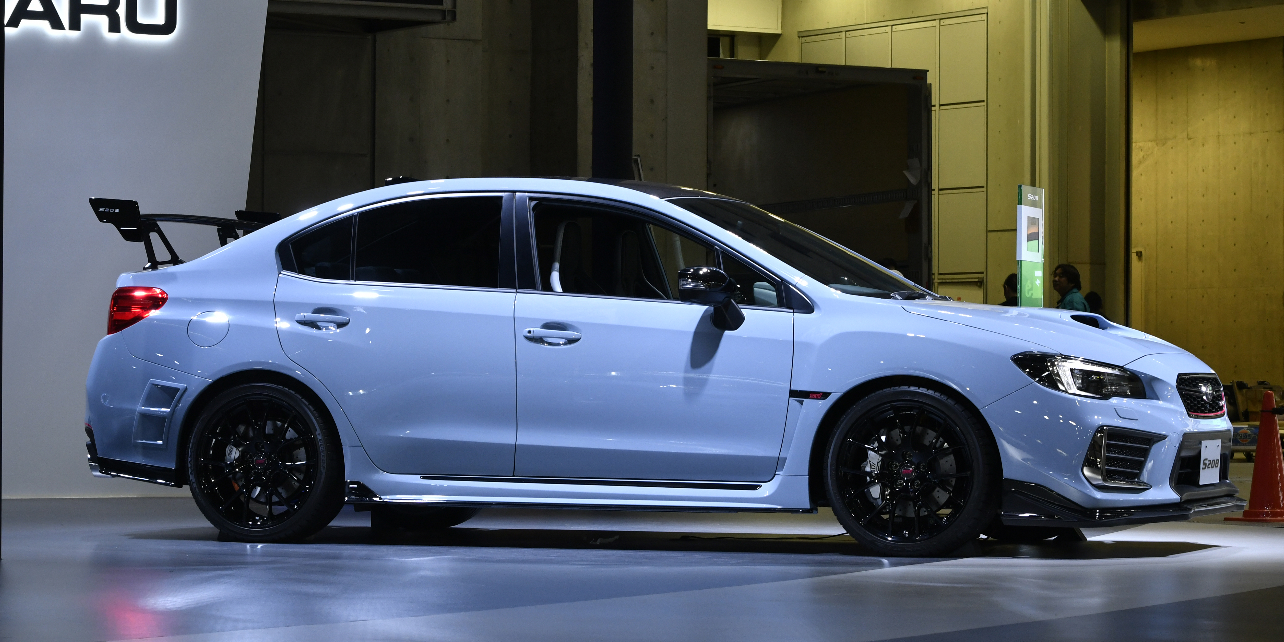 subaru wrx sti s208 unveiled in tokyo photos 1 of 11. Black Bedroom Furniture Sets. Home Design Ideas