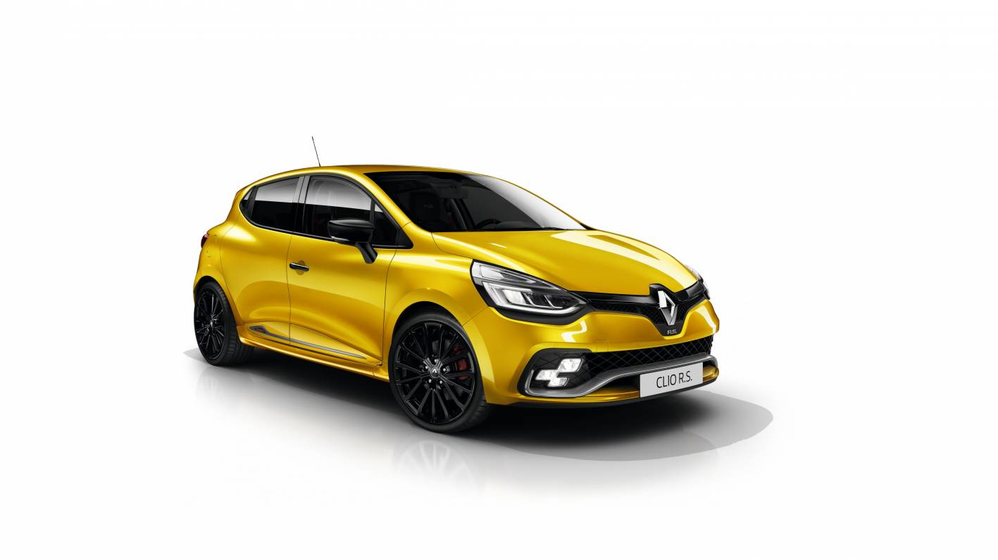 2018 renault clio rs trophy pricing and specs photos 1 of 7