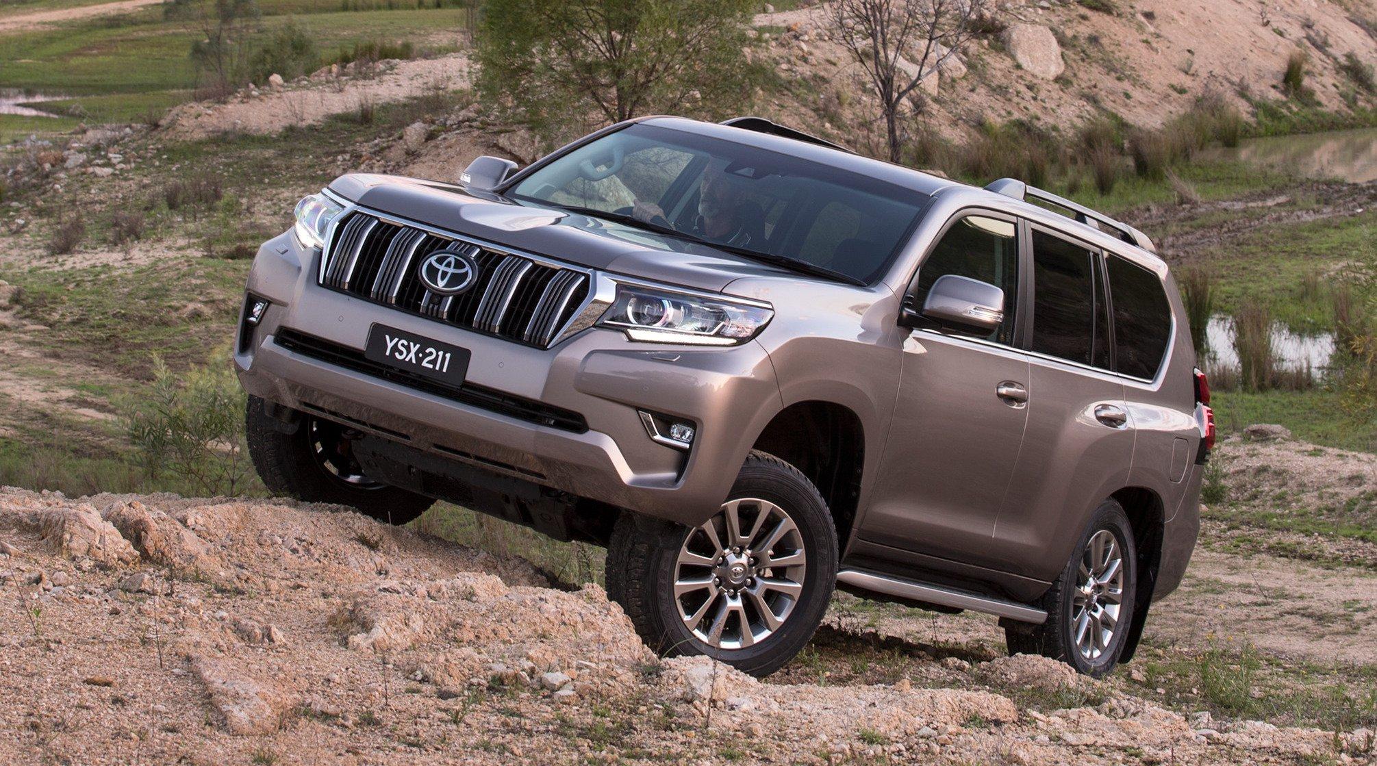 2018 Toyota Prado >> 2018 Toyota LandCruiser Prado pricing and specs - Photos (1 of 26)