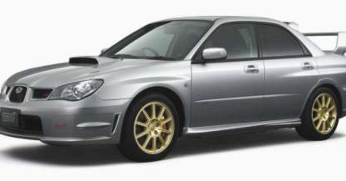 Subaru Impreza Wrx Sti 2006 My06