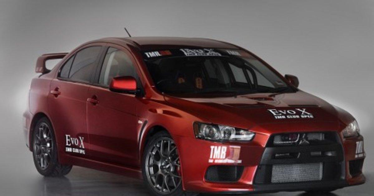 Mitsubishi Lancer Evolution Tmr Club Spec