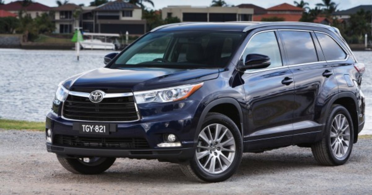 2014 toyota kluger pricing and specifications