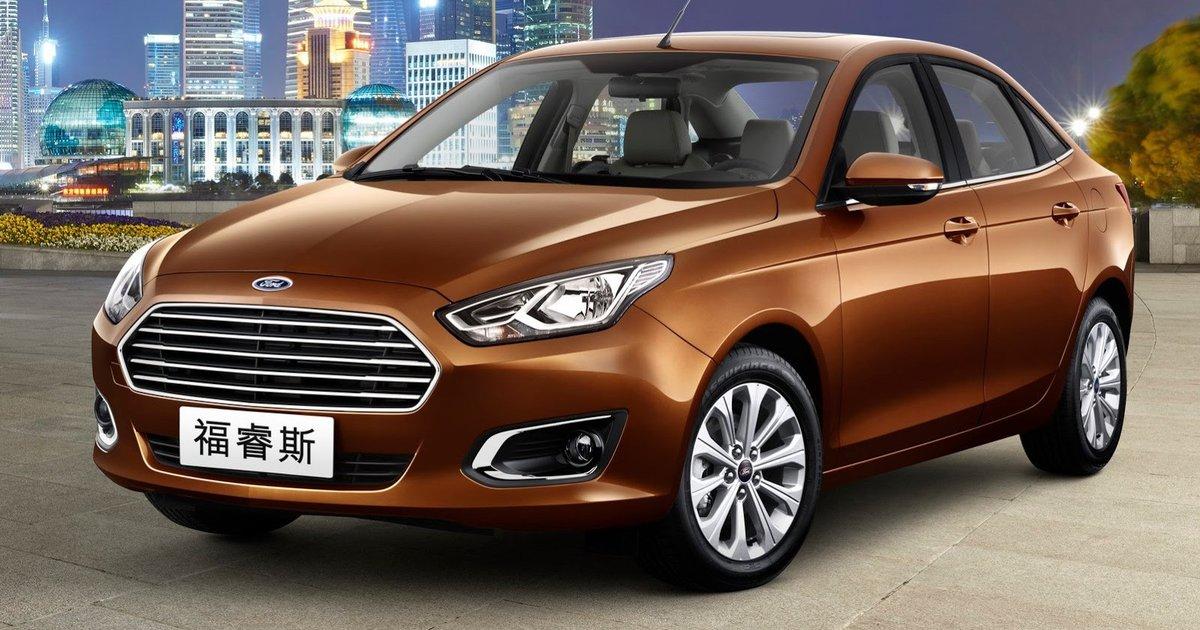 Ford Escort: Australian-designed Chinese sedan revealed