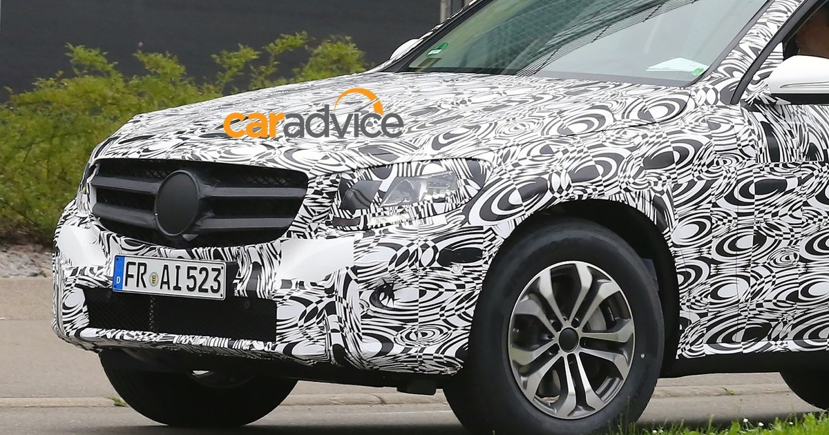 2015 mercedes benz glc class spied for 2014 mercedes benz glc